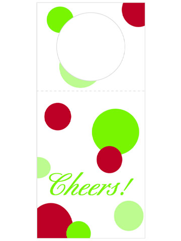 Exclusive Wine-Bottle Gift Tags from Better Homes and Gardens