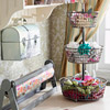 Gift-Wrapping Station from Repurposed Items