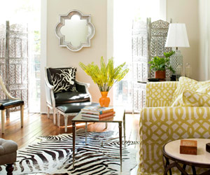 House Tours: An Eclectic, Yet Elegant Home