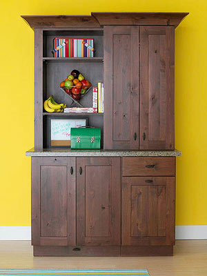 Four Unfinished Storage Cabinet Makeovers: Change an Unfinished Armoire into a Personalized Storage Cabinet