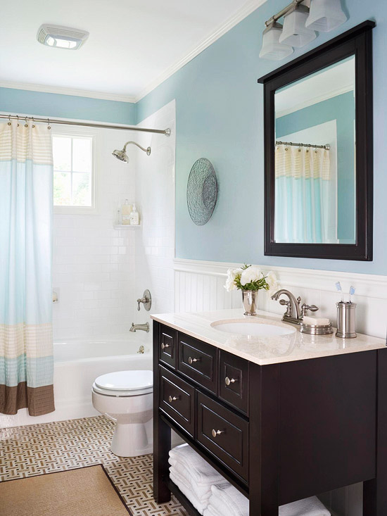 Most common bathroom updates for Updated bathrooms designs