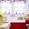 Stained-Glass Panel Valances