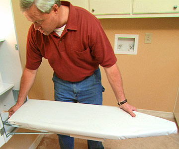 Add a Built-In Ironing Cabinet
