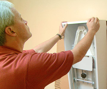 Video: Install an Ironing Board Cabinet