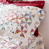 Pieced Pinwheel Pillow