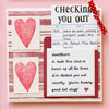 Checking You Out Valentine Card