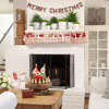 Homespun Holiday Mantel