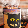 Cat Trick or Treat Tin