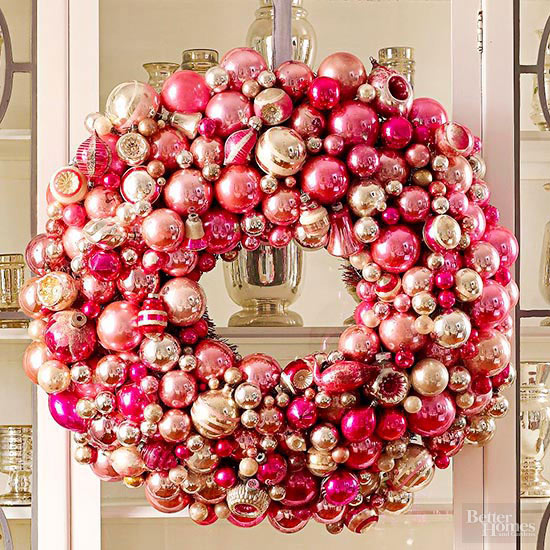 Wreaths with Sparkle
