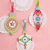 Pretty Patterned-Paper Ornaments