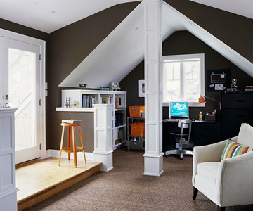 Find the Perfect Paint Color for Your Attic