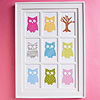 Pretty Owl Frame Artwork