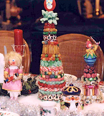 Favorite Holiday Traditions: Marilyn Sweeney's Candy Trees