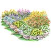 Colorful Slope Garden