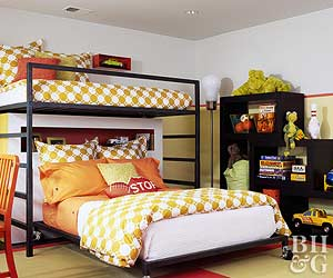Shared Spaces: Bedrooms for Two Kids