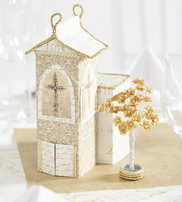 Wedding Chapel Centerpiece
