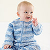 Baby Boy Crocheted Onesie