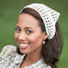 Easy Crocheted Kerchief