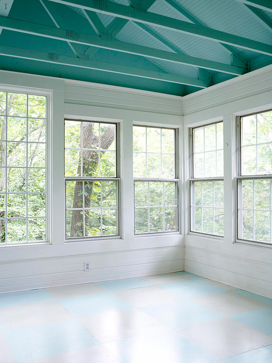 Before and After: Affordable Sunporch Makeover