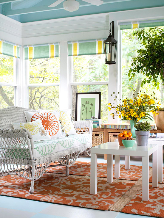 Ten June Loving A Beautiful Before Amp After Sun Porch