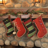 Christmas Stockings from Worn Sweaters