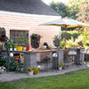 Affordable Outdoor Kitchen