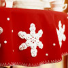 Felt Snowflake Tablecloth