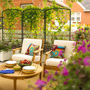fresh air rooms, outdoor, furniture, outside, summer dining