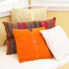 Cable-Knit Sweater Pillows