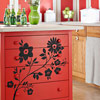Red Hot Kitchen Island