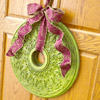 Use Home Materials to Make a Medallion Wreath