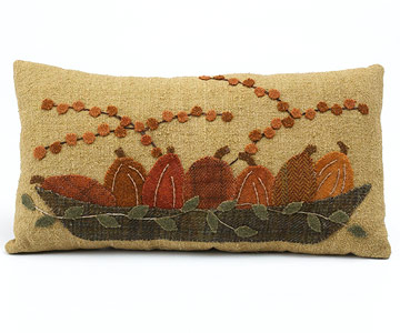 Make a Pretty Pumpkin Pillow for Thanksgiving