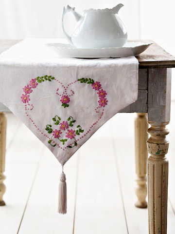 Elegant Embroidered Decor