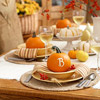 Monogrammed Pumpkin Place Settings