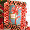 Ribbon Candy Card Frame