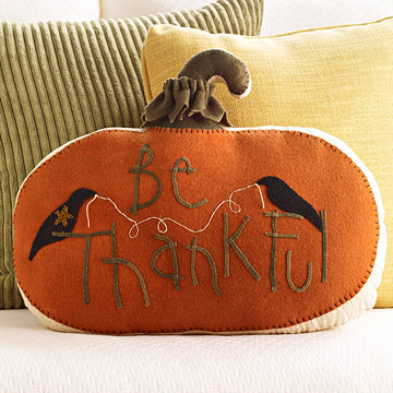 Craft a Thoughtful Pillow for Halloween and Thanksgiving