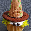 Little Witch Cupcake