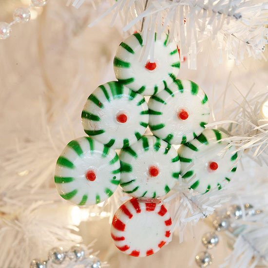 Bake Sweet Candy For Quick Christmas Ornaments