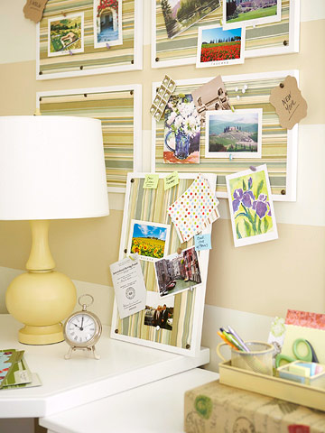 A Home Office With Custom Touches