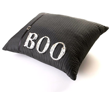 Make a Sequined Halloween Pillow