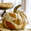 Leafy Centerpiece Pumpkin
