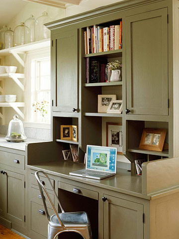 complement your kitchen - Kitchen Desk Ideas