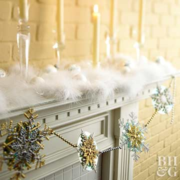 Pretty Crafts for Your Mantel
