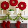 Carnation Wreaths