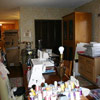 Sewing Room, Before