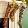 Striped Wool Stockings