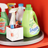 Laundry Station 3: Corral Cleaning Supplies