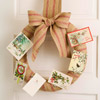 Creative Christmas Card Wreath