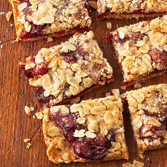 Cranberry Pear Bars