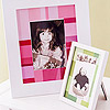 Paint Chip Photo Frame